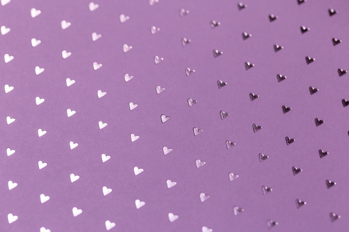 Pink Hearts Background Free Photo #401276