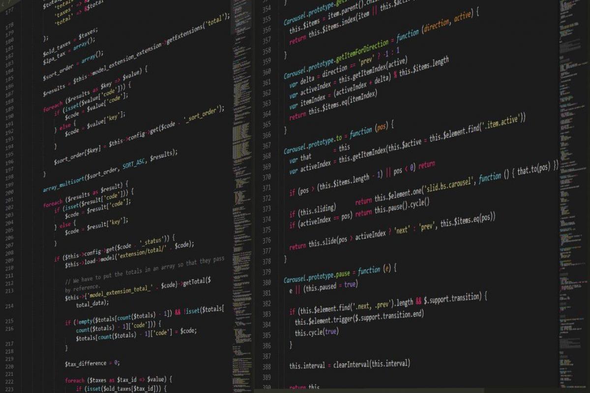 Code JavaScript Editor Free Photo