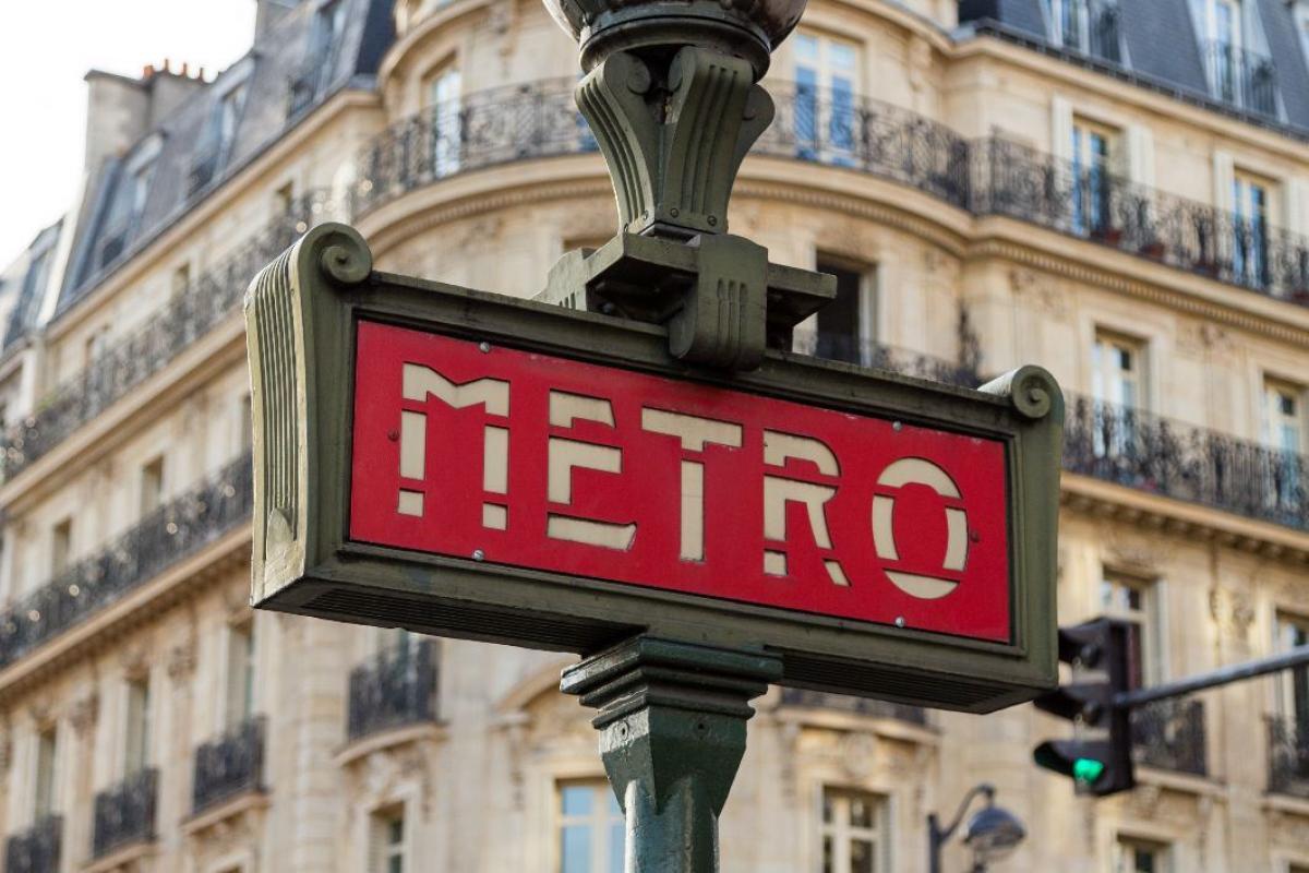 Metro Street Sign Free Photo