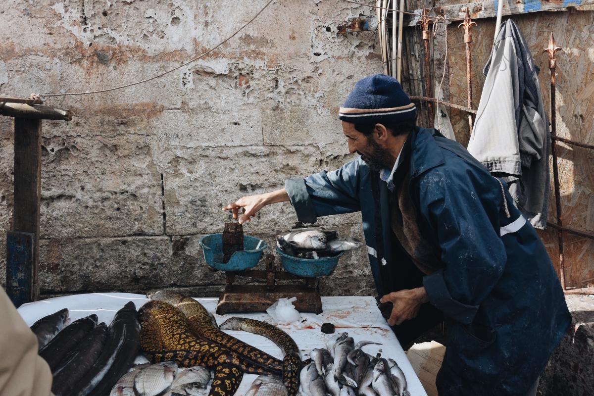 Seller Man Worker