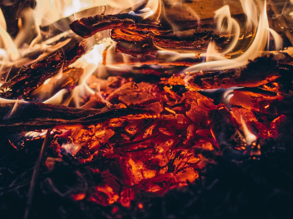 Hot Flame Ember Fire #409135