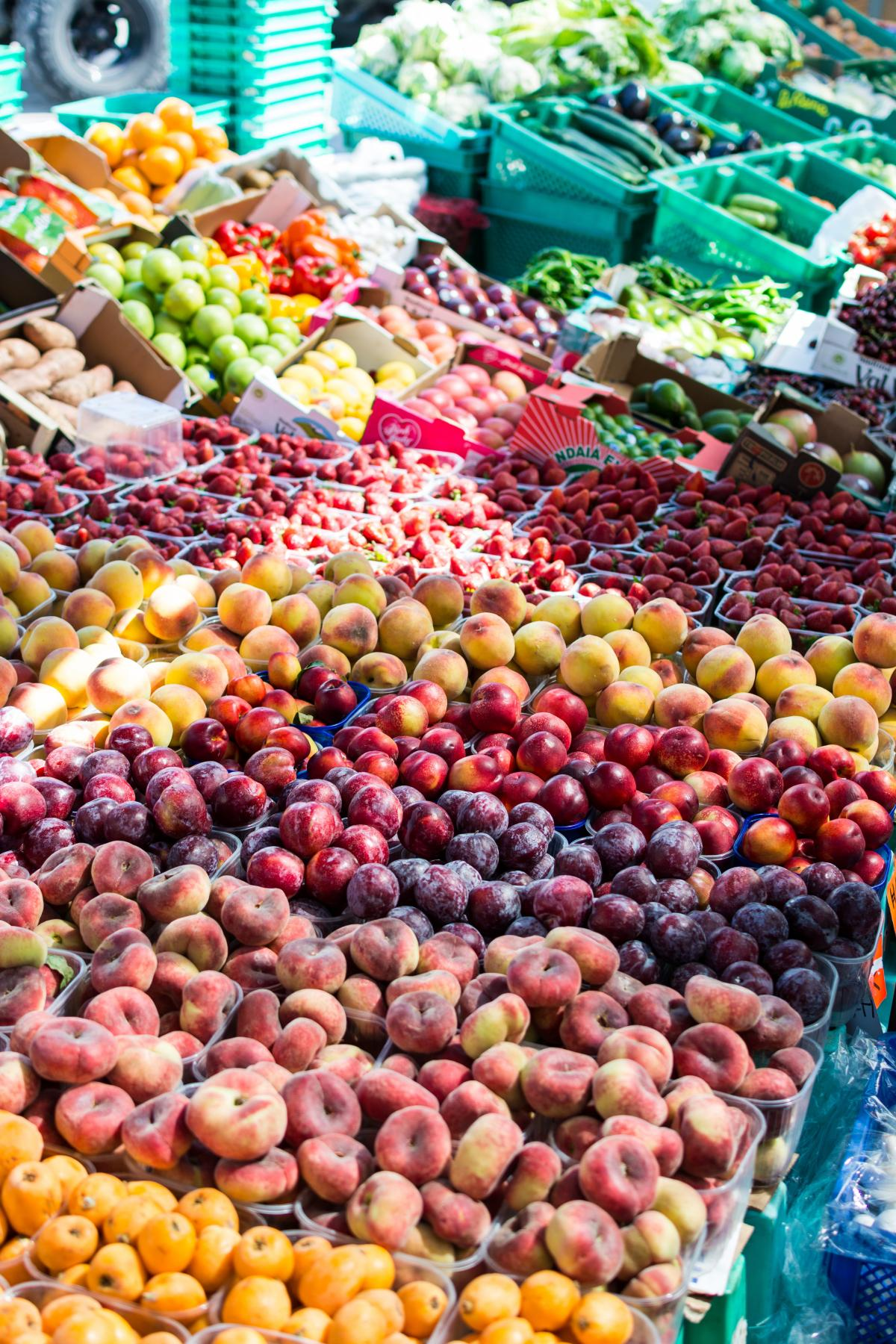 Summer Fruit Market Free Photo #410695