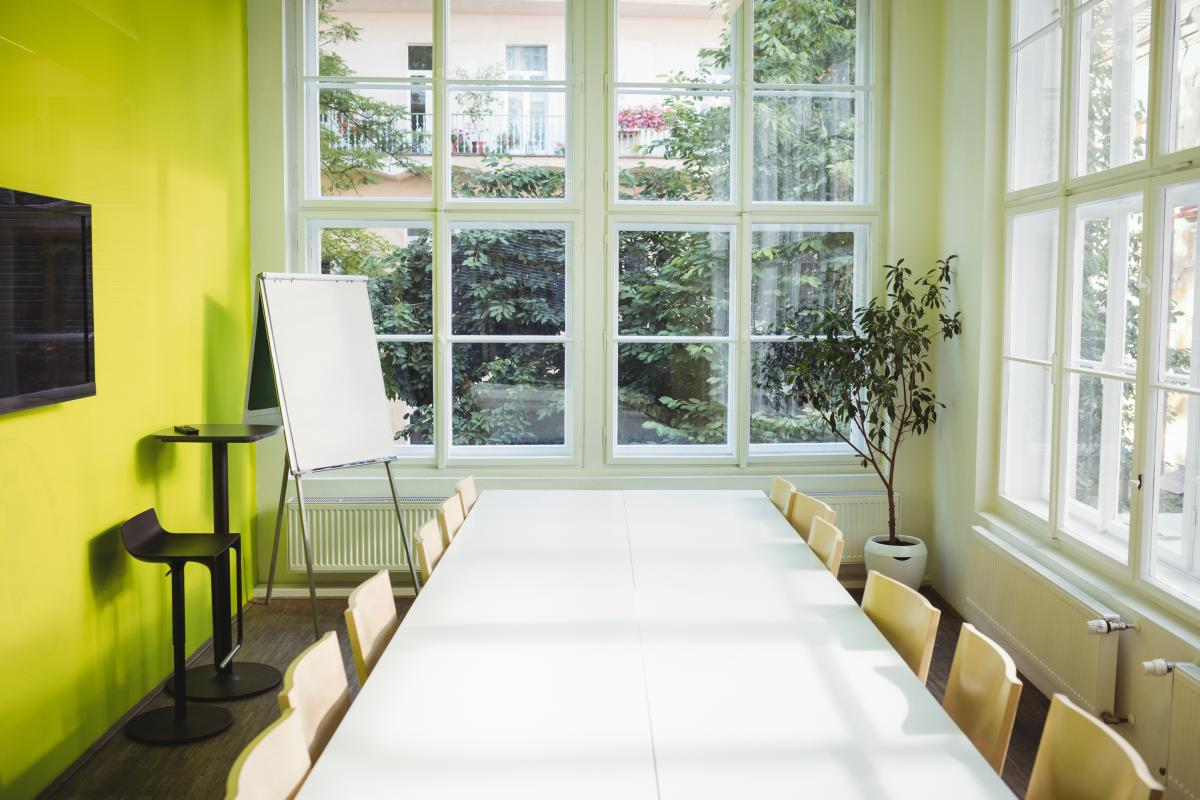 Business meeting room in office #413342
