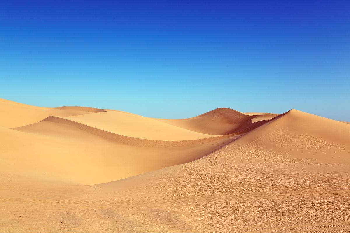 Dune Desert Sand