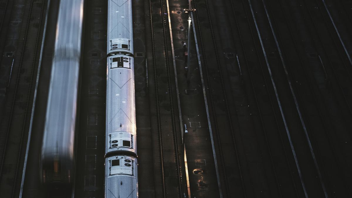 Subway station at New York, USA #417924