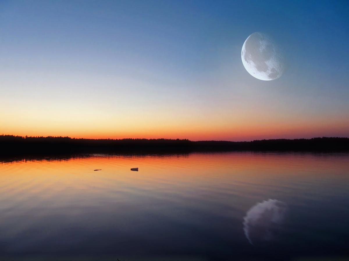Moon Sky Sun