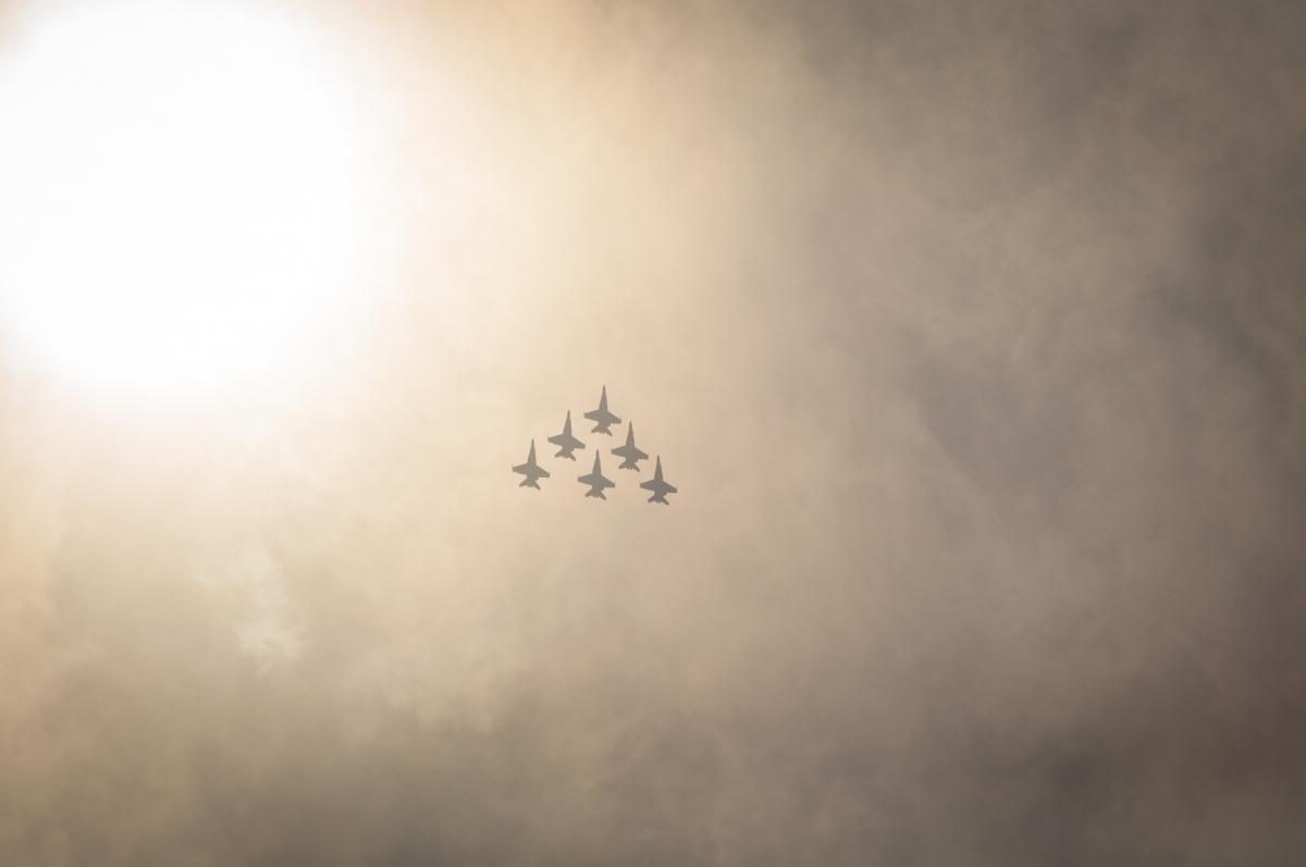 Flight sky clouds cloudy