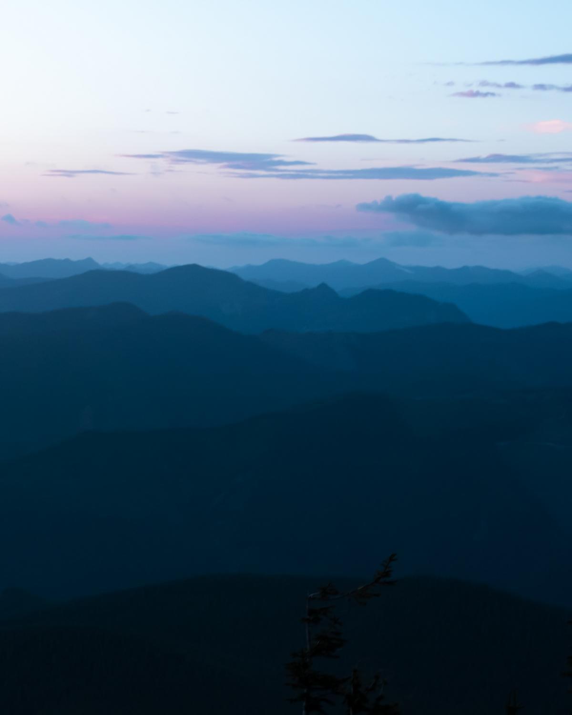 Range Mountain Sky