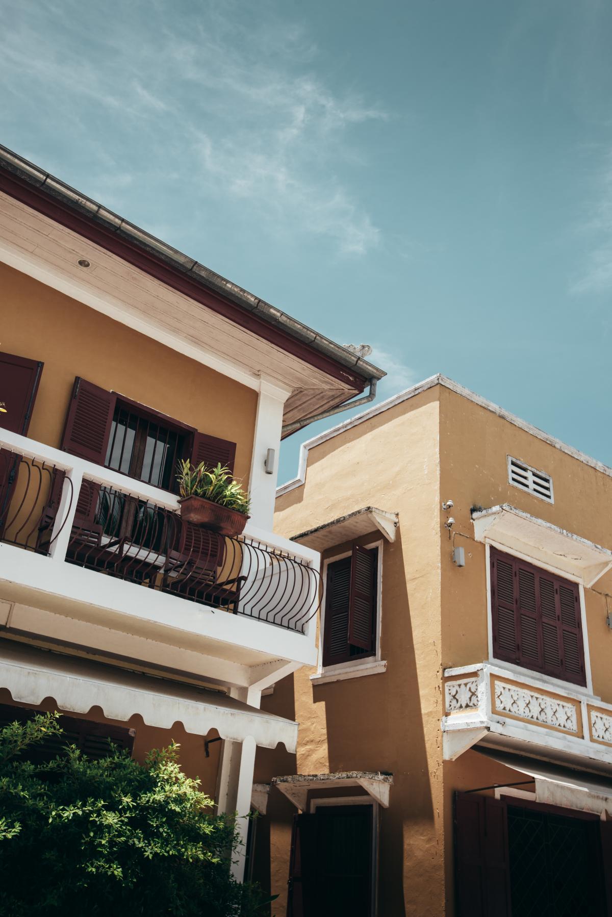 Balcony Architecture Building