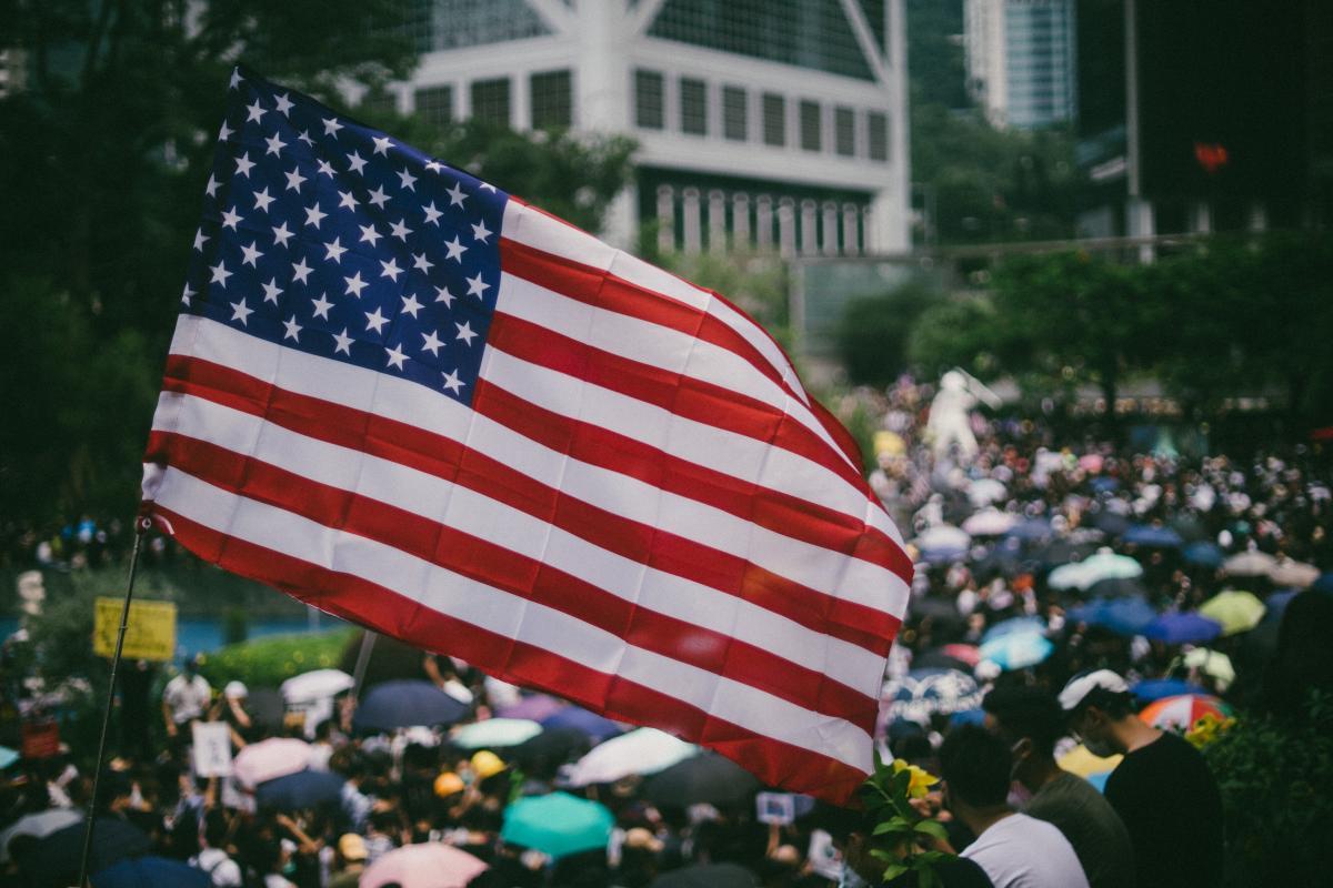 Flag Emblem Patriotic