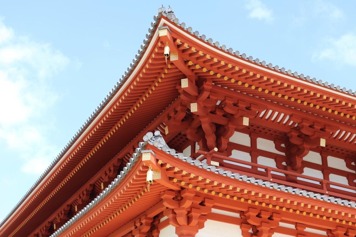Temple Tile Architecture #418945