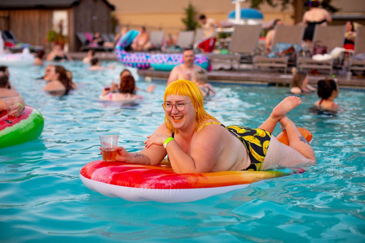 Goggles Bikini Swimsuit