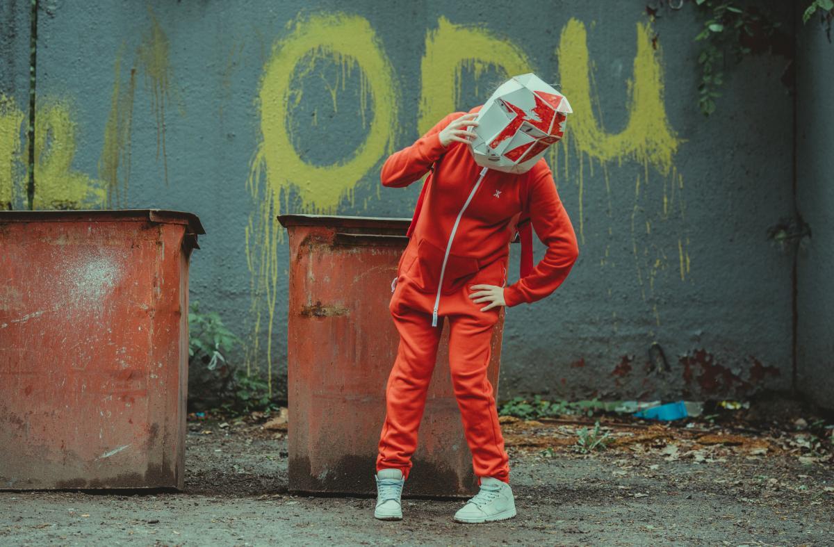 Graffito Decoration Man