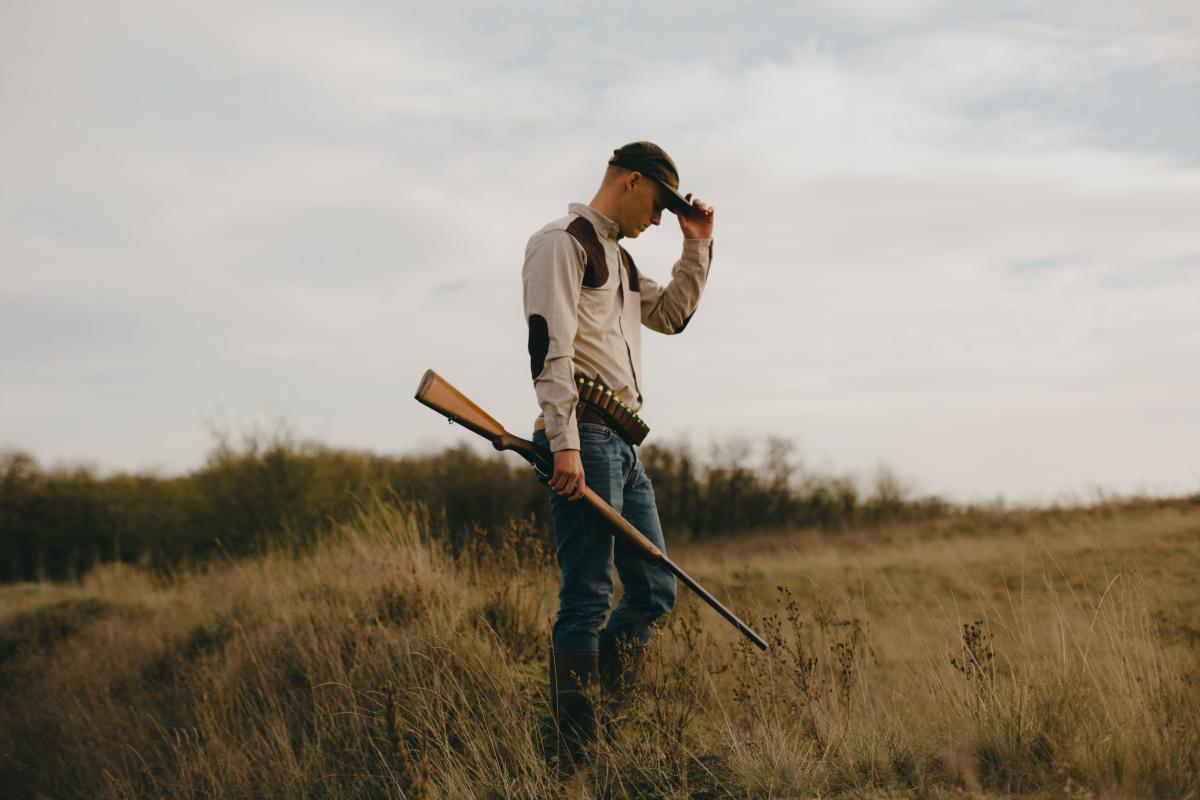 Farmer Person Grass