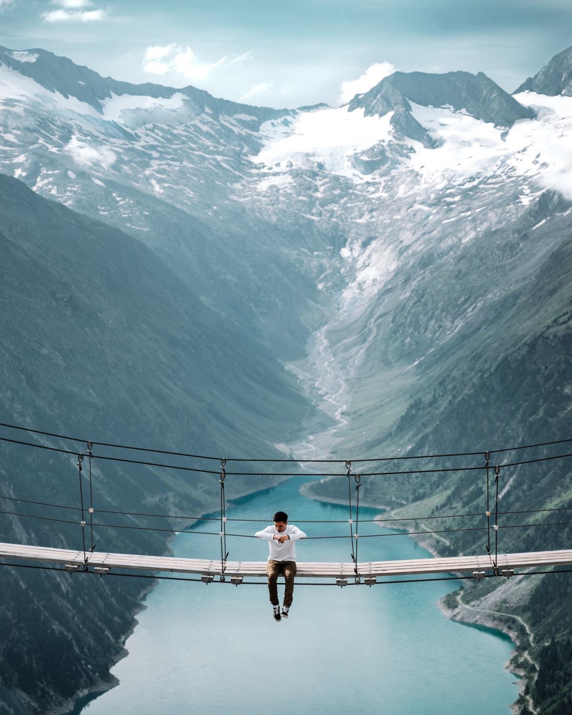 Suspension bridge Mountain Bridge