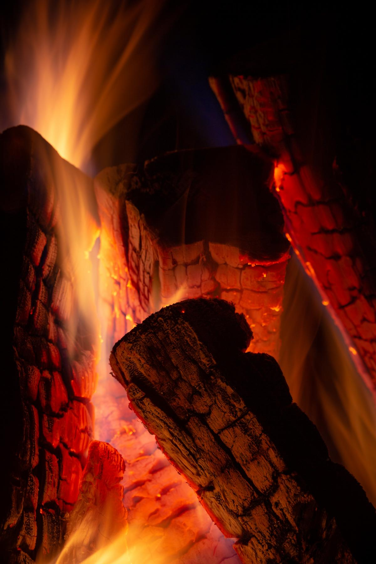 Fireplace Fire Flame