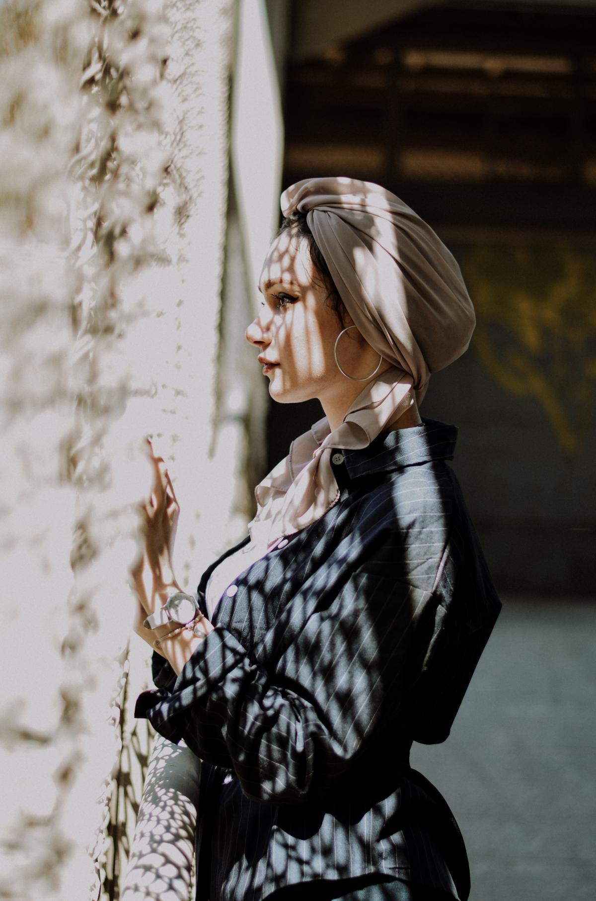 Portrait Attractive Fashion
