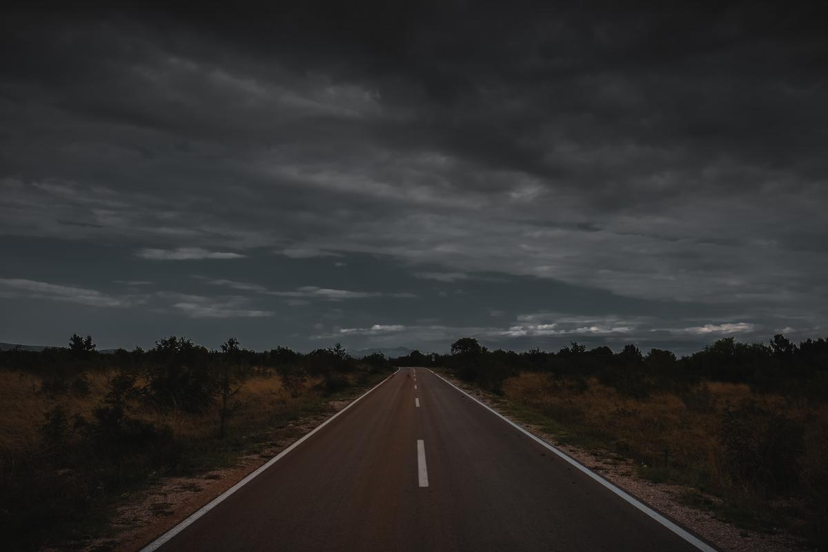 Expressway Road Landscape #420017