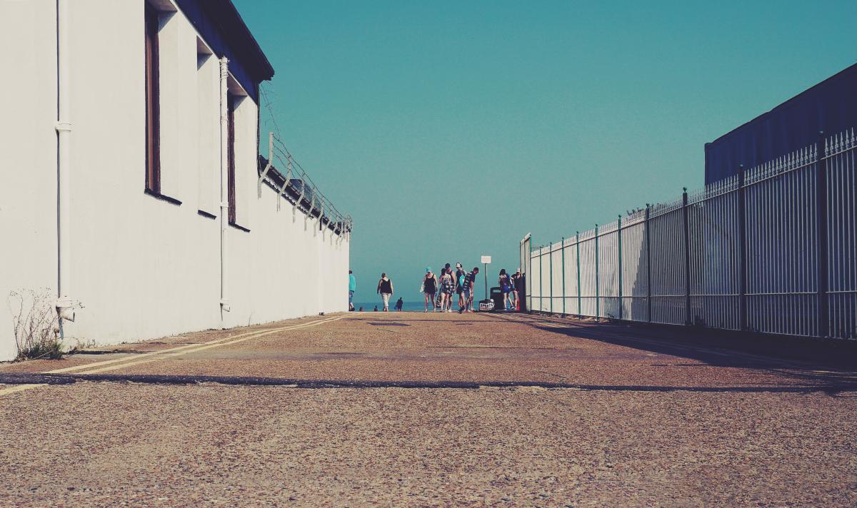 Pier Sky Wall