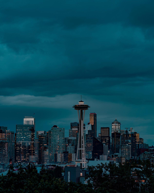 Business district City Skyline #420173