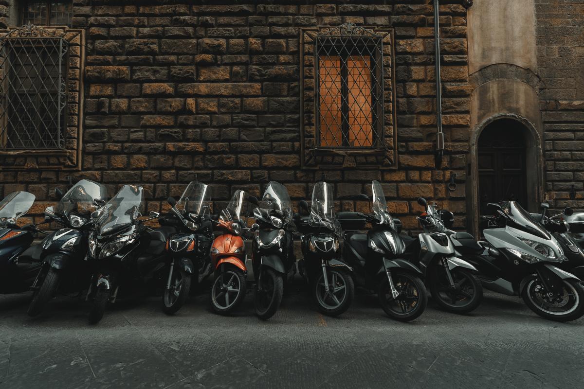 Moped Motor scooter Minibike #420621