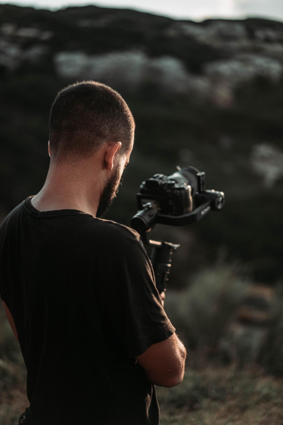 Man Gun Camera