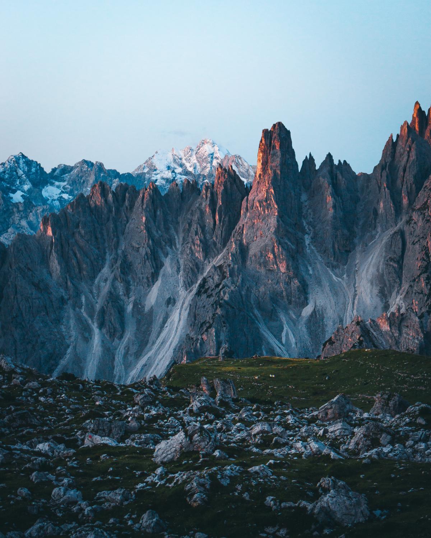 Glacier Mountain Canyon