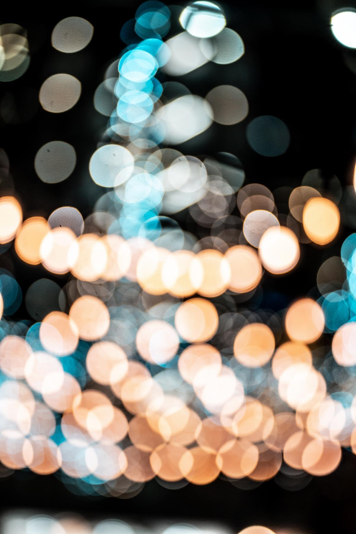 Lights Blur Light