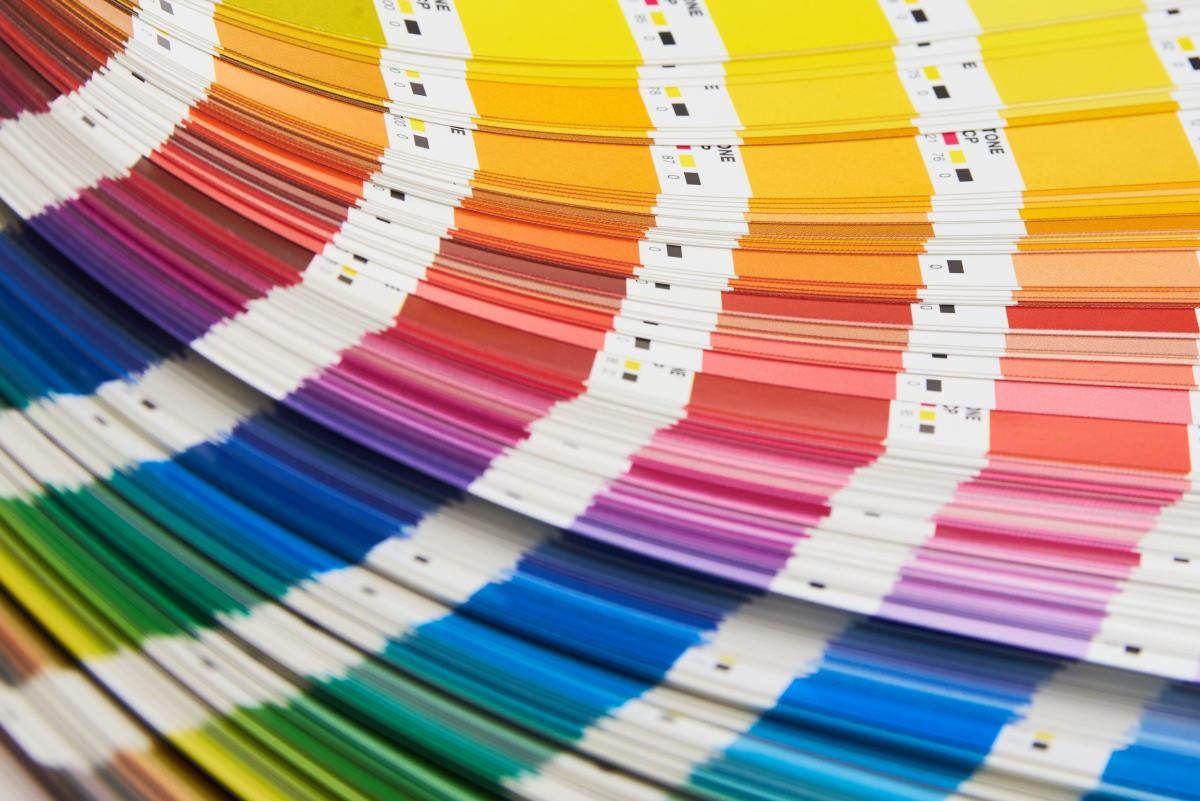 Color Swatches Book Free Photo