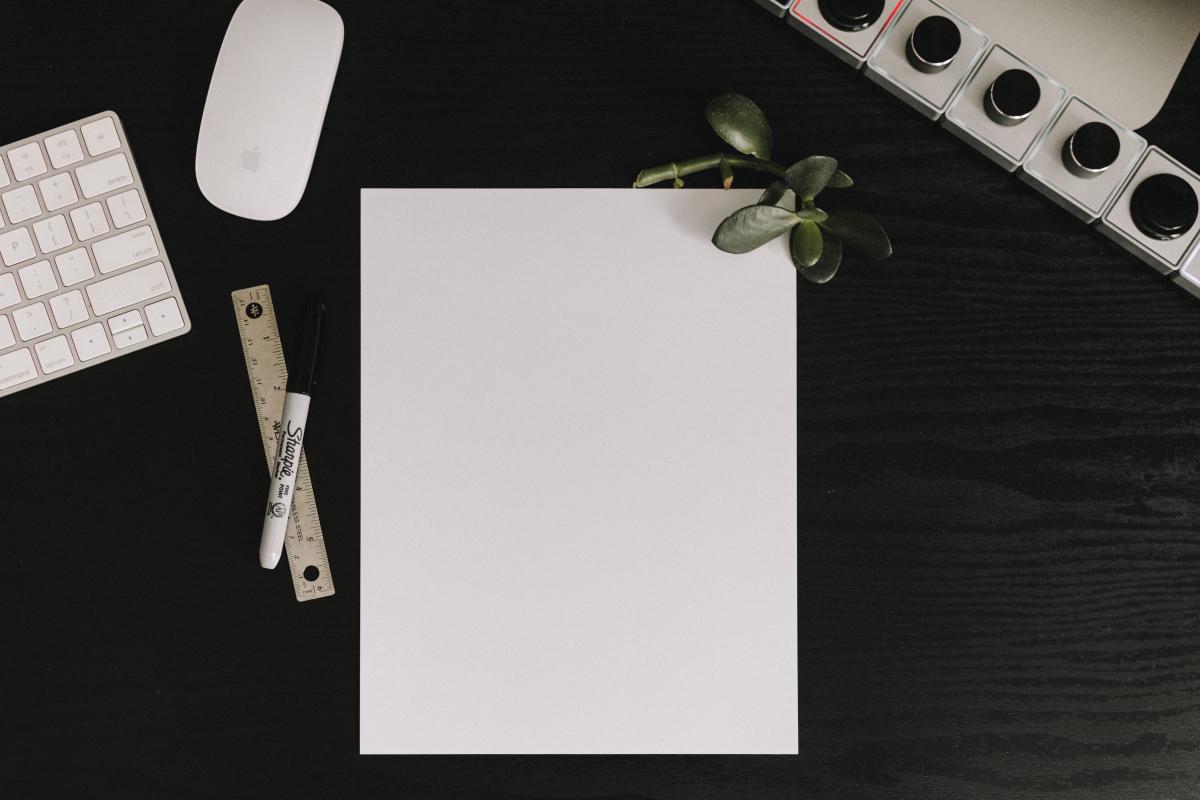 Envelope Blank Paper