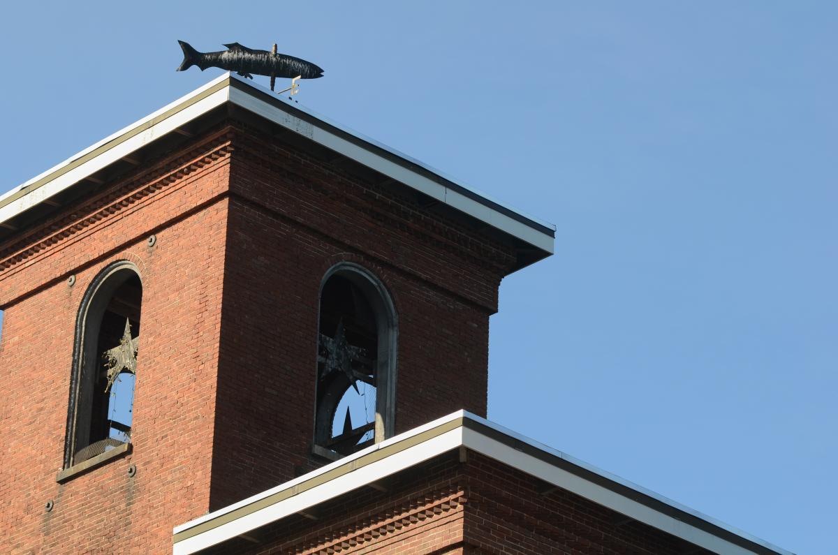 Brick Mill Building Free Photo