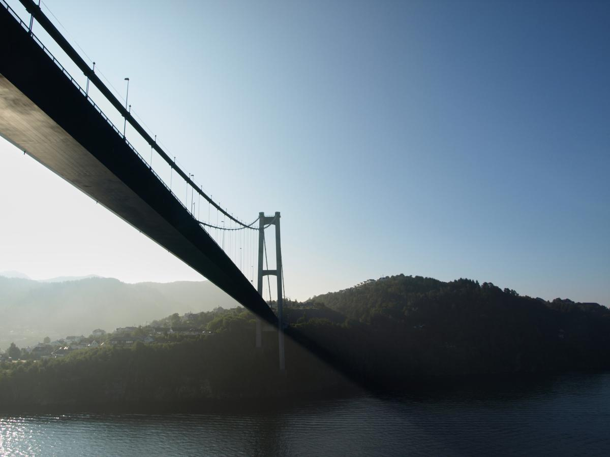 Suspension bridge Bridge Structure #421935
