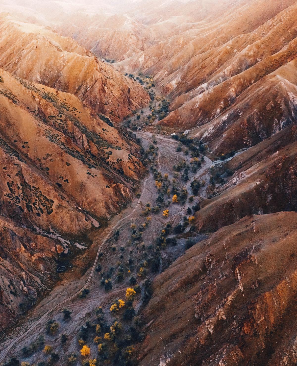 Canyon Ravine Valley
