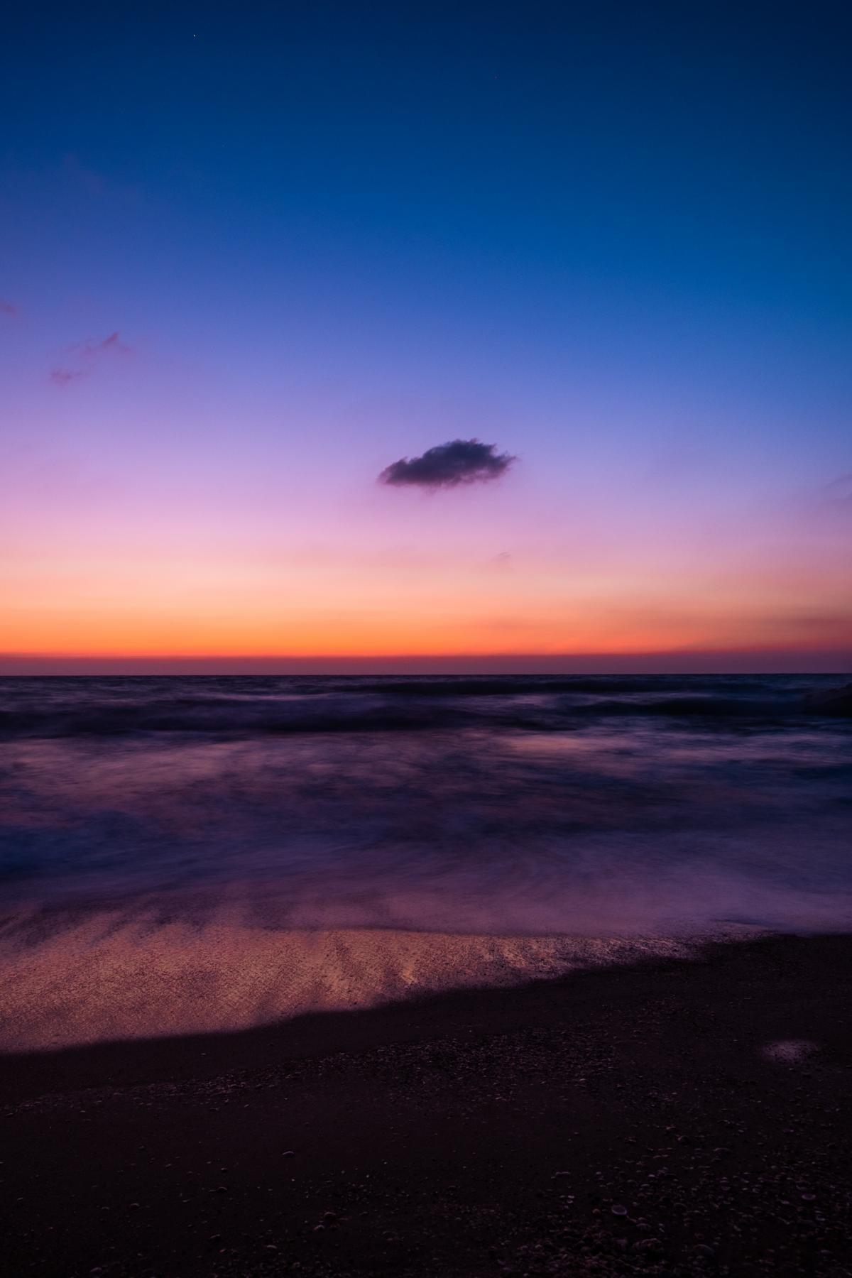 Sun Sunset Ocean