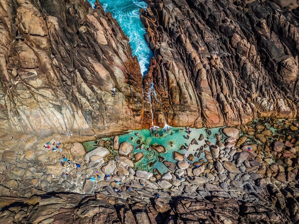 Canyon Rock Landscape