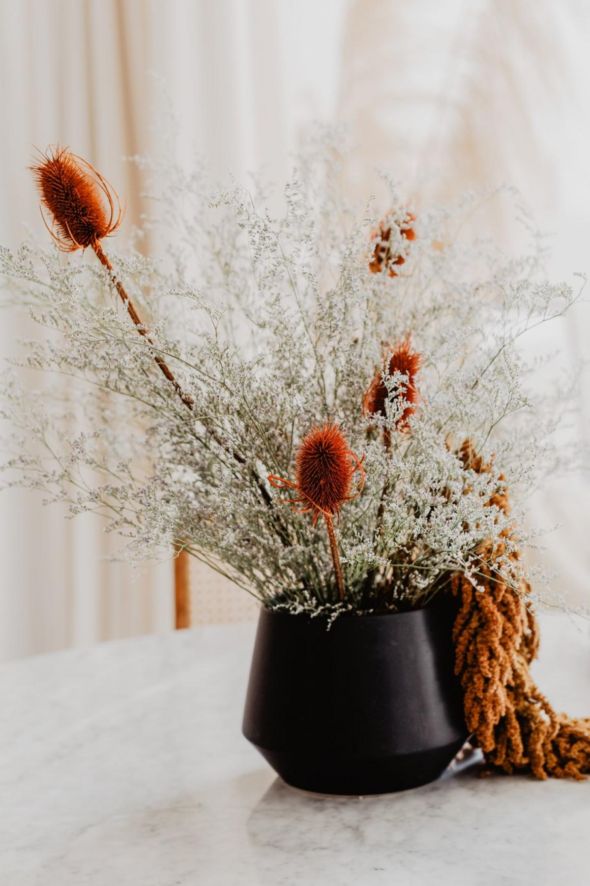 Fall Flowers On Table #422625