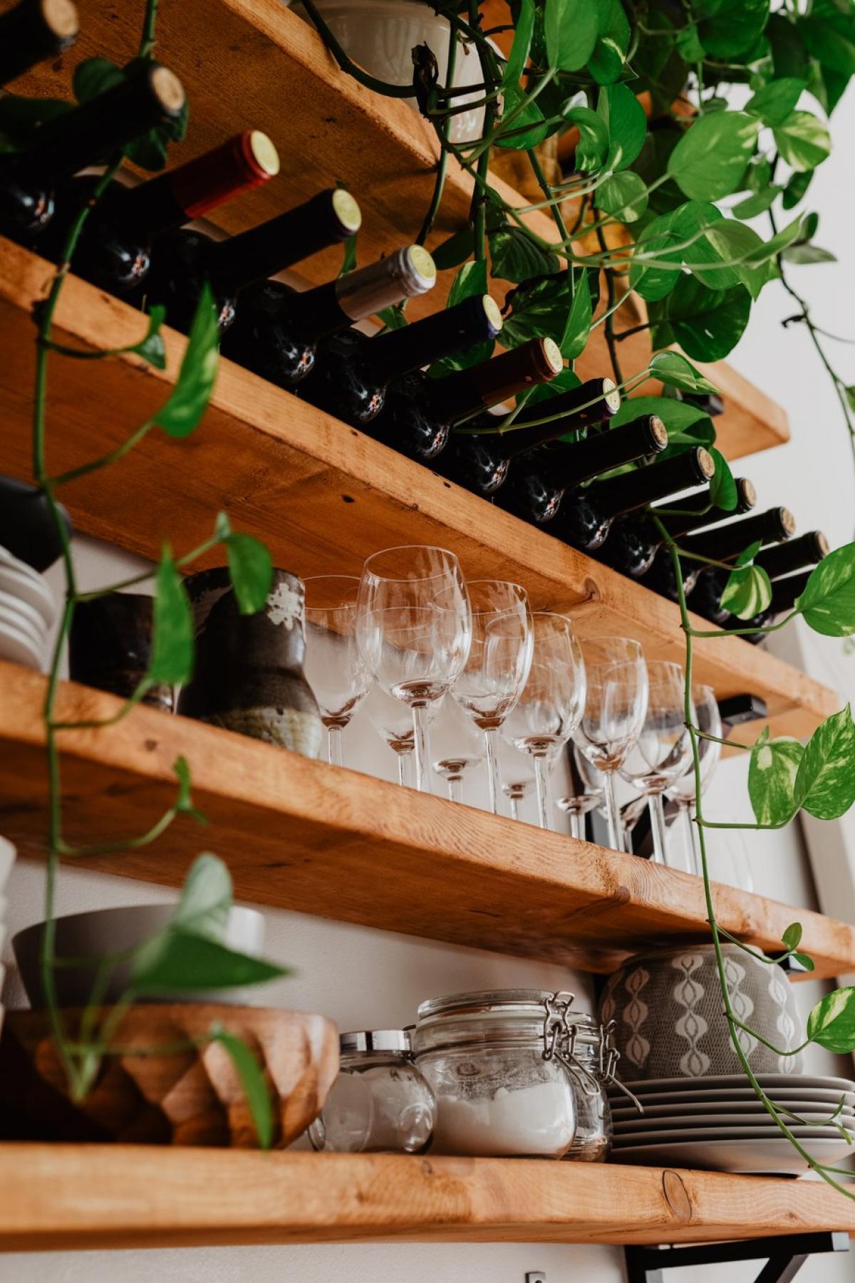 Wine Shelves #422629