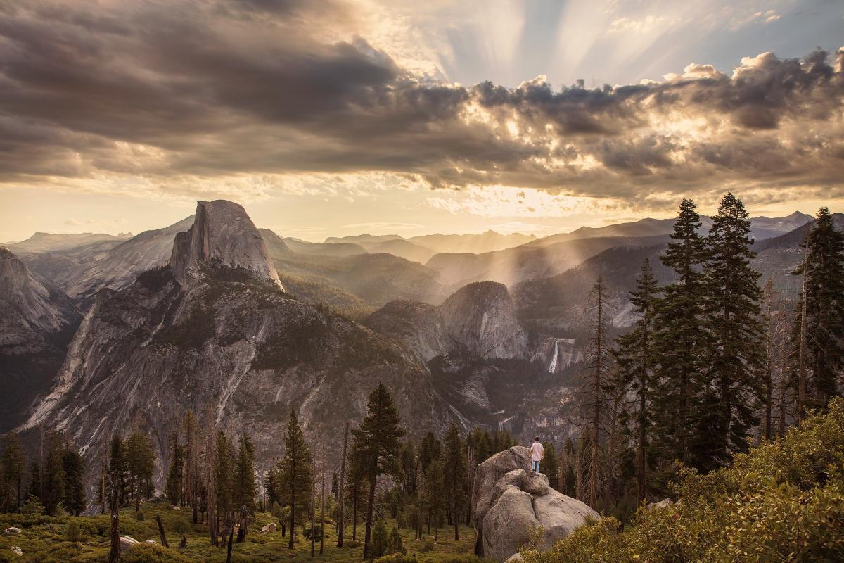 Mountain Landscape Mountains