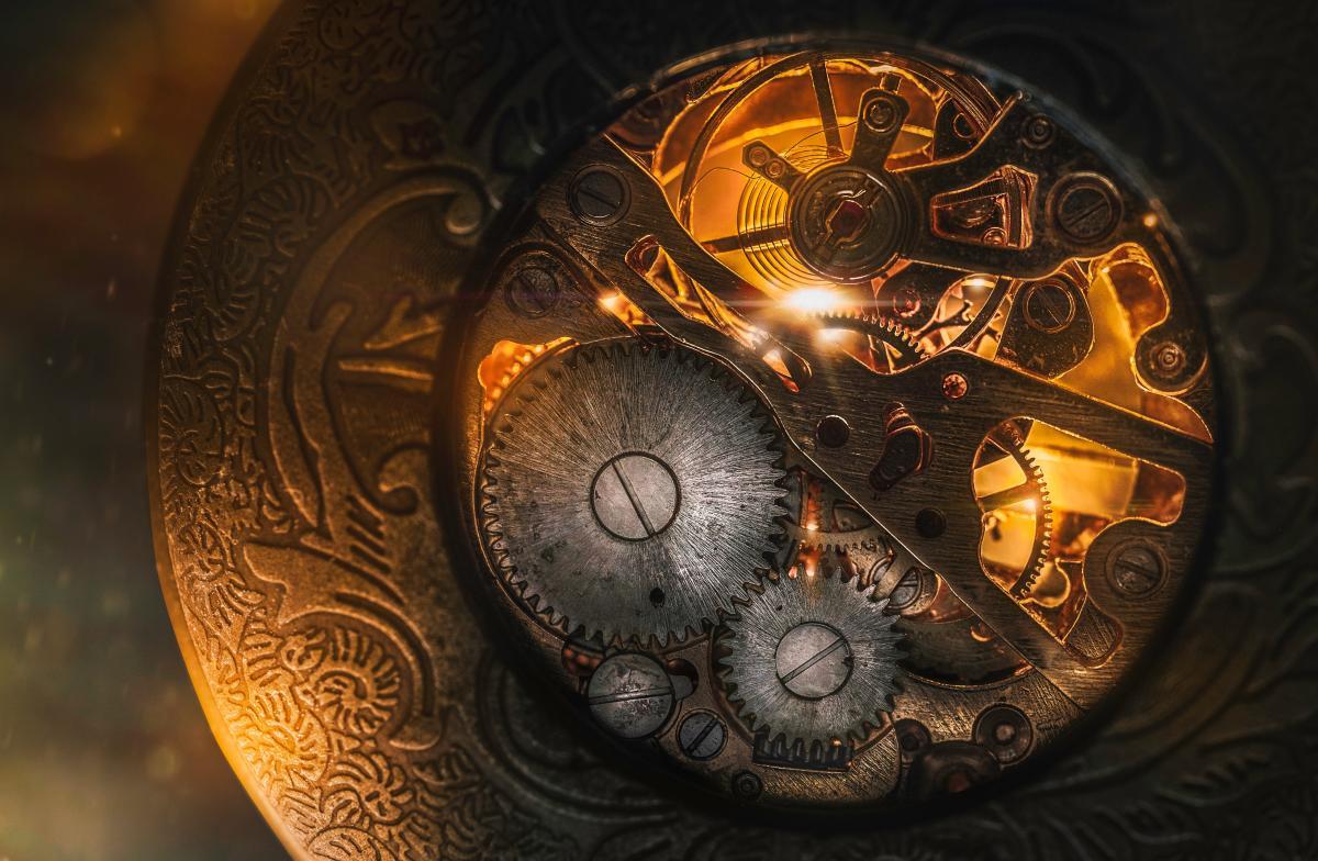 Compact disk Clock Design