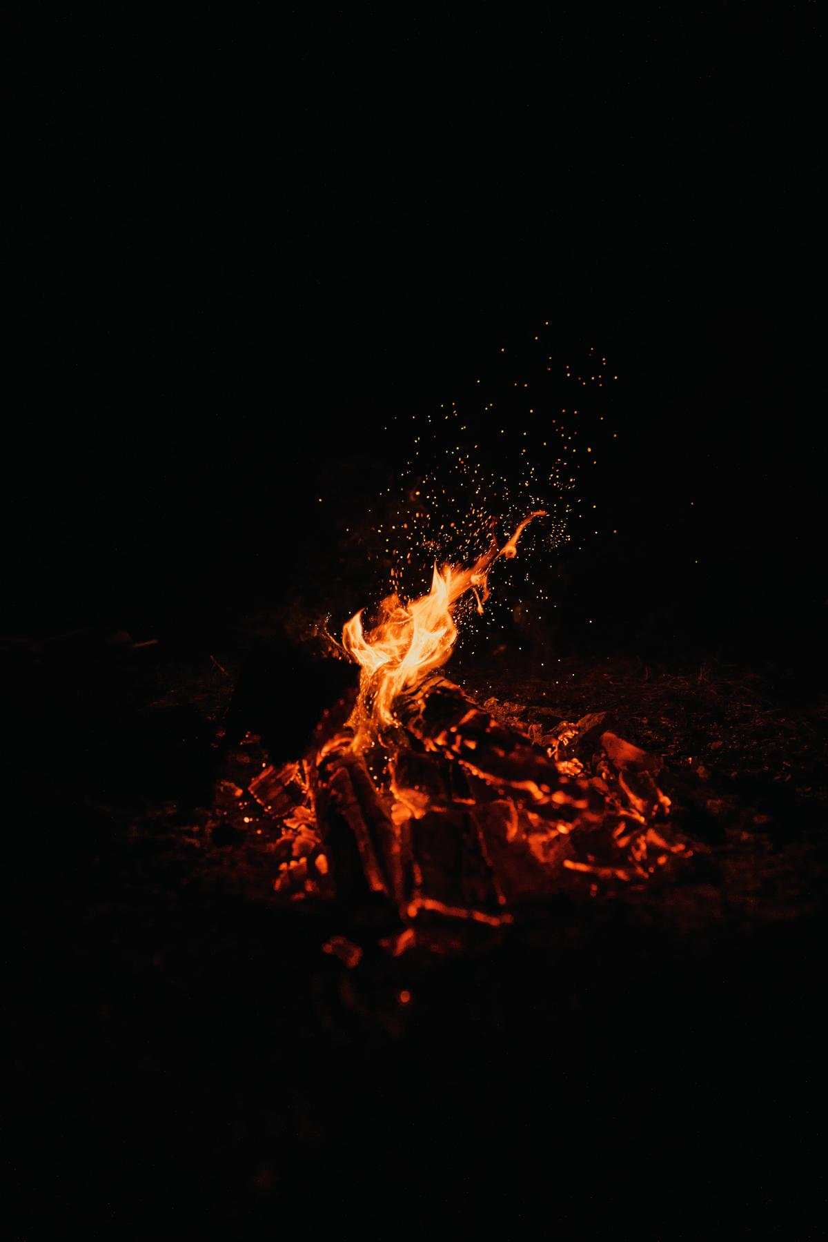 Blaze Fireplace Fire