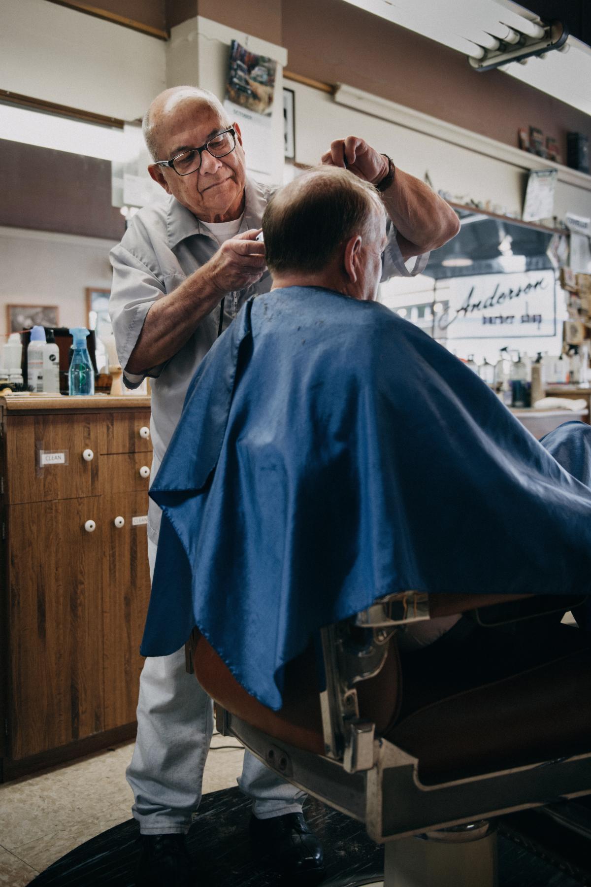 Barber chair Hairdresser Barbershop #423287