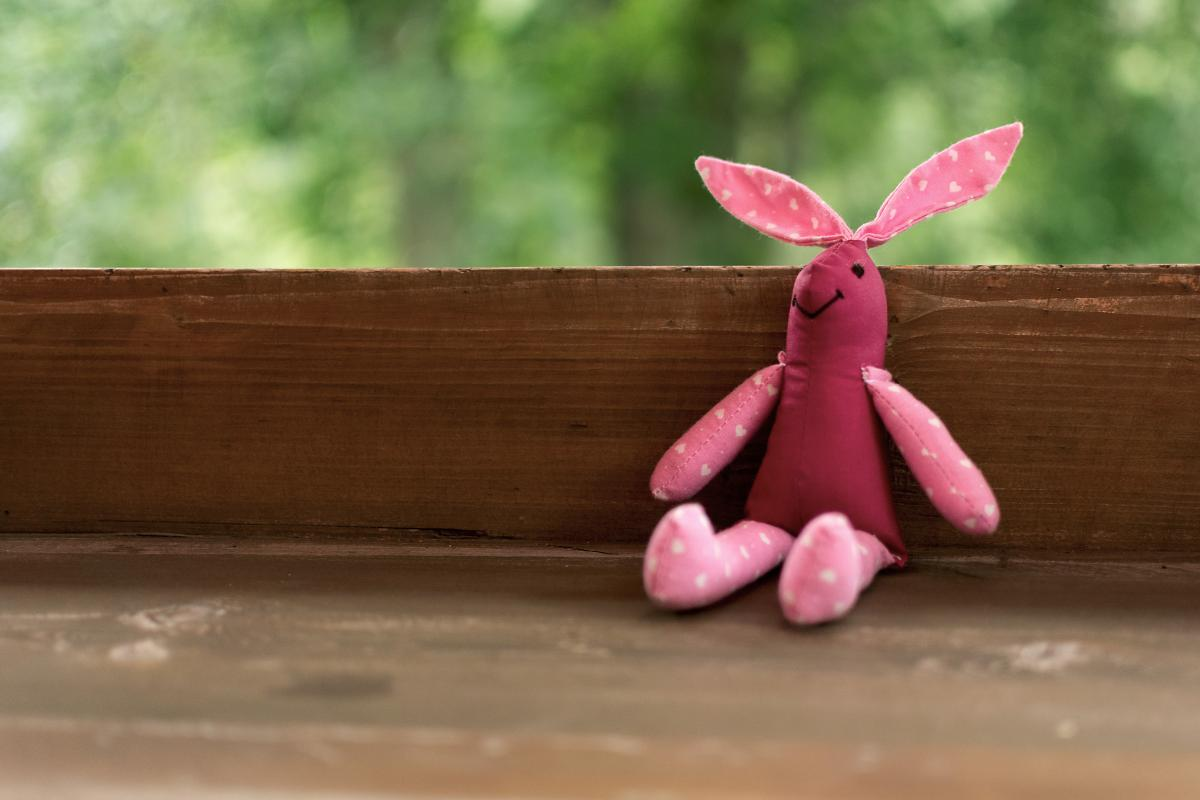 Handmade Bunny Toy - Free Image For Commercial Use