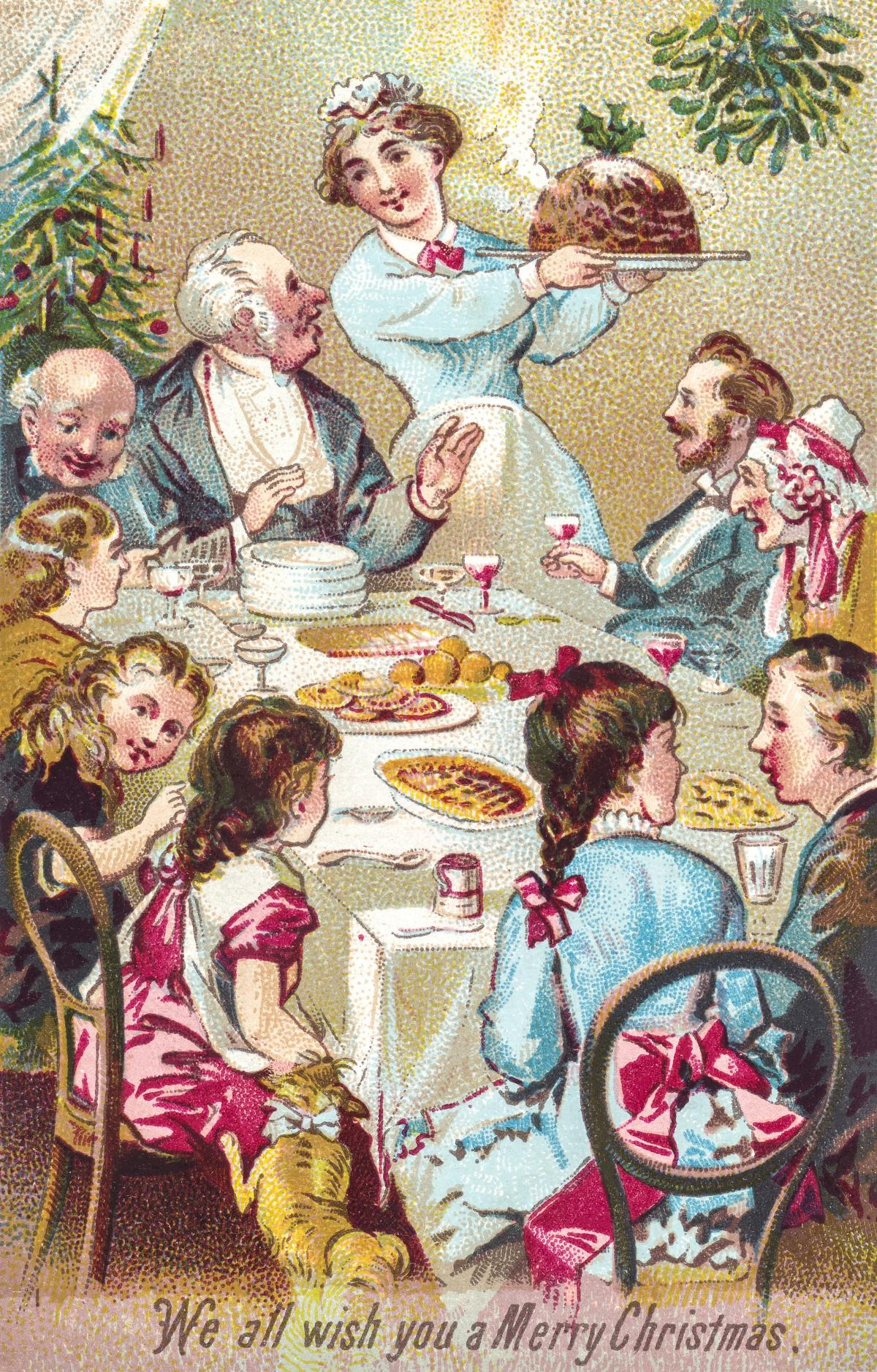 We all wish you a merry Christmas (ca.1800–1900) from Rare Book Division. Original from The New York Public Library.