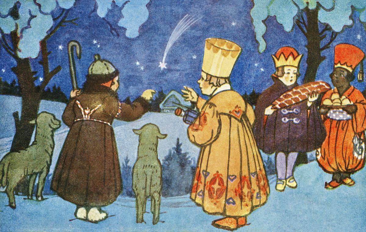 Veselé Vánoce! by Zdenek Guth. Original from The New York Public Library.
