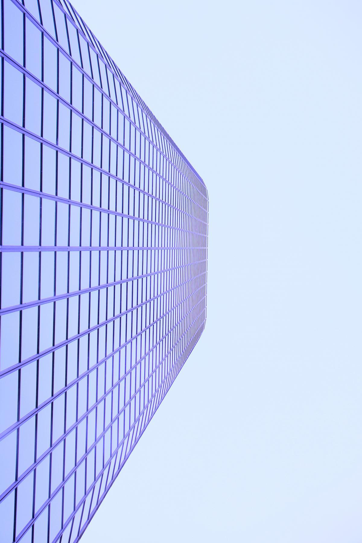Looking glass Modern City