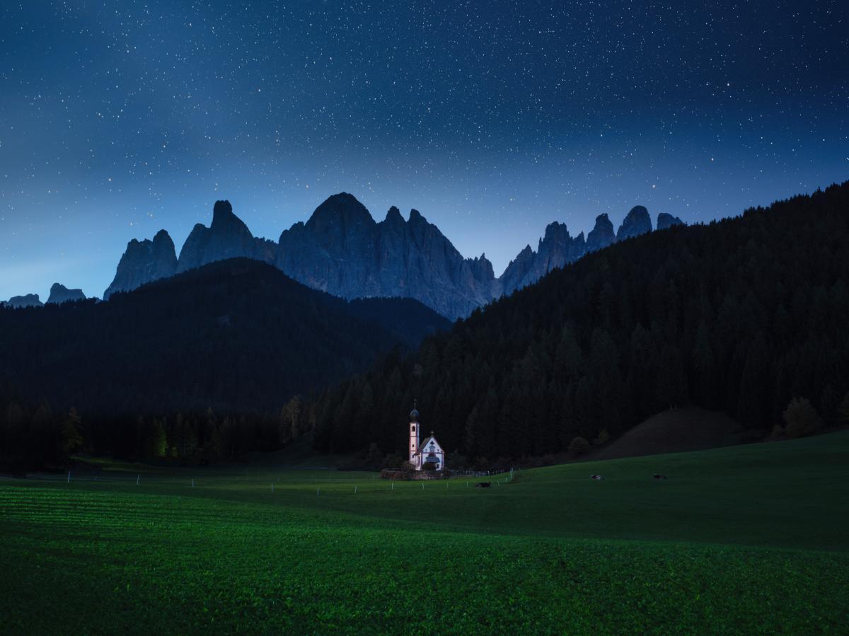 Mountain Alp Landscape