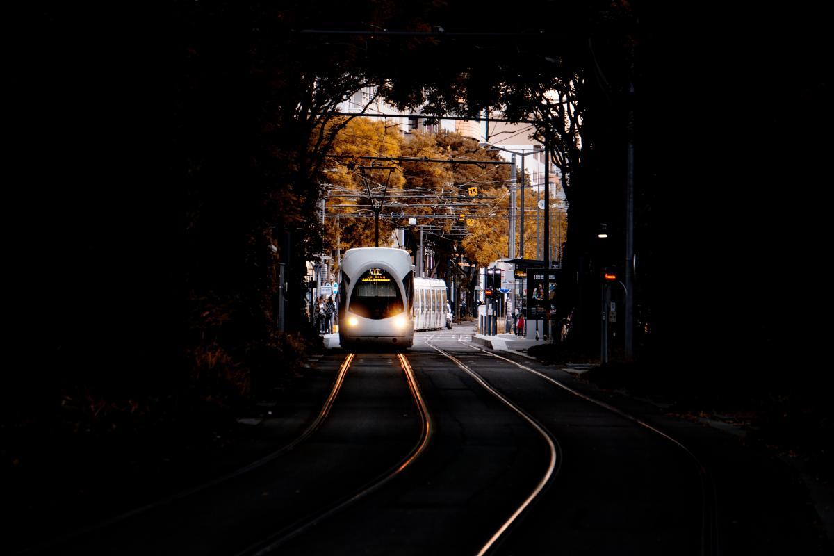 Tunnel Passageway Tramway