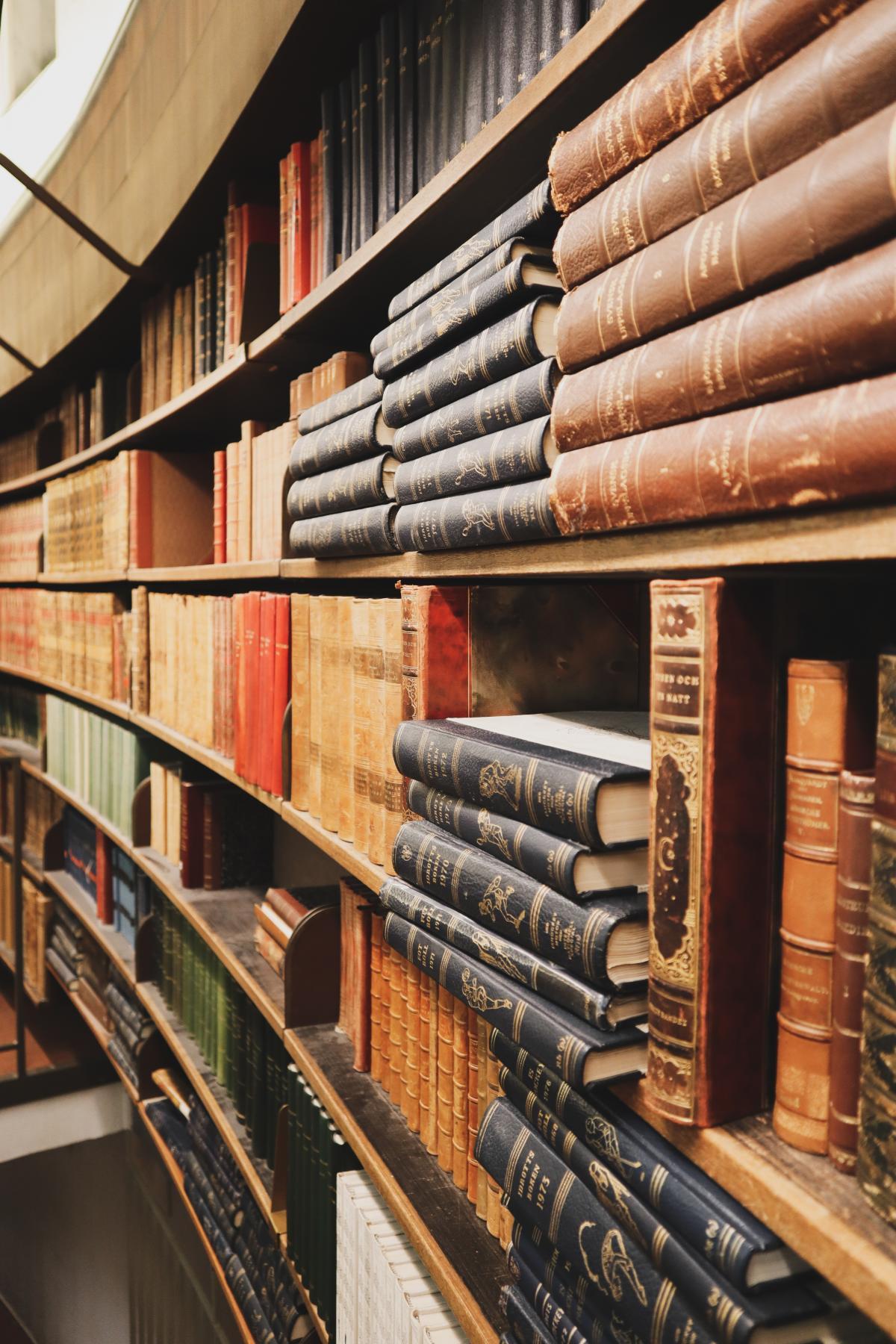 Library Warehouse Bookshop
