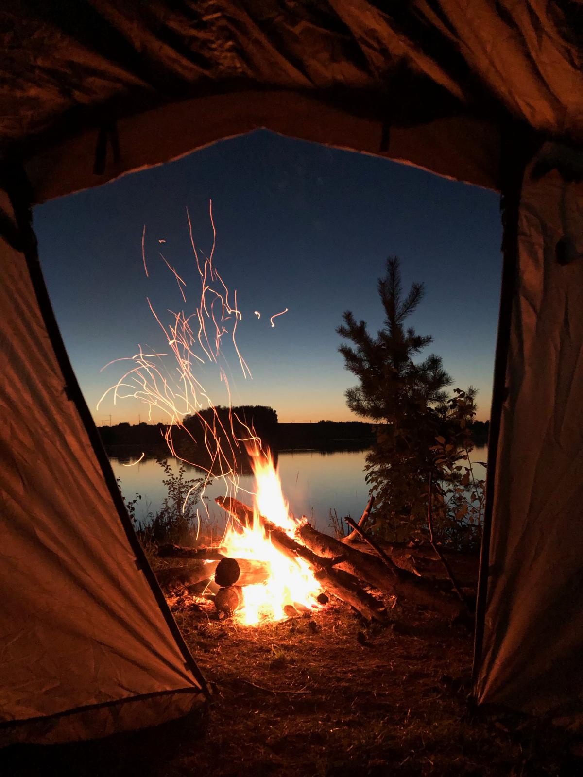 Mountain tent Fireplace Tent