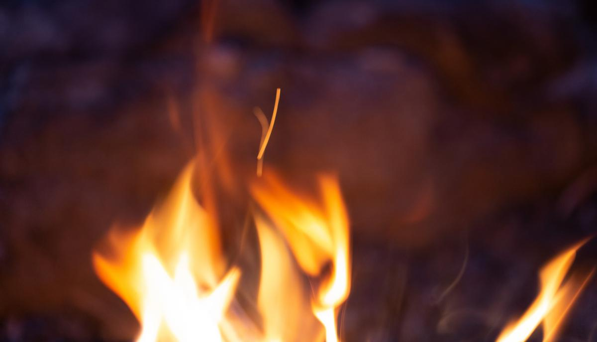 Camp Fire Sparks Free Photo